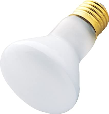 Westinghouse 0370000 120v Frosted Incand R20 Light Bulb 6-Pack 030721037009 2000 Hour 380 Lumen 45w