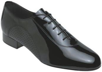 5200メンズ社交Supaflex Shoe ブラックパテント 8.5 F(M) UK