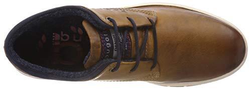 cognac Bugatti 3 6300 De Cordones 21334e Hombre 11 Marrón Zapatos Para Derby xv7xUn1
