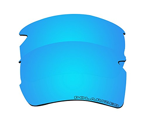 6a6f967e81900 BVANQ Polarized Replacement Lenses for Oakley Flak 2.0 XL (OO9188)  Sunglasses - 6 Options Available (Blue Mirror) - Buy Online in KSA.