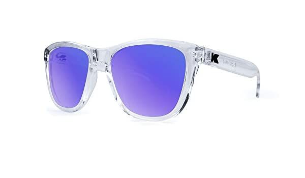 Gafas de sol Knockaround Premium Clear / Moonshine: Amazon ...