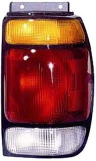 QP F8121-b Mercury Mountaineer Passenger Tail Light Lens /& Housing