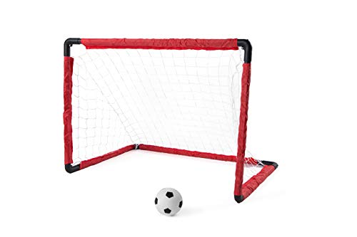 (NBD Corp 18 Piece Super Soccer Goal Set - Enjoy Soccer Games at Home with This Great Outdoor Versatile Portable Set )