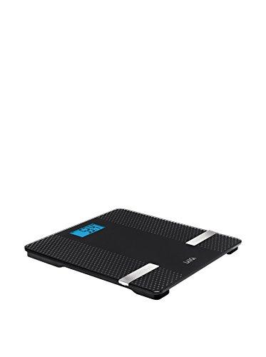 Laica-PS7002-Bascula-de-bano-con-tecnologia-Bluetooth-que-pasa-los-datos-peso-grasa-agua-musculo-a-una-APP-color-Negro-180-kg