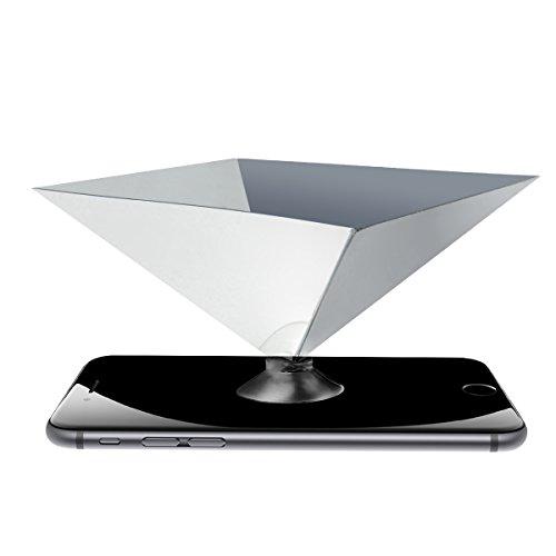 LANMU Holographic Projector Pyramid Smartphones