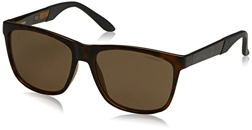 Carrera Mens CA8022S Sunglasses, Havana / Bronze Polarized, One - 1 Sunglasses Carrera