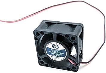 Coolerguys CG4020L12S - Ventilador ultra silencioso para ...