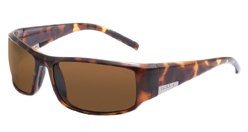 Bolle Wrap Around Sunglasses - Bolle King Sunglasses, Dark Tortoise, Polarized A-14 oleo AF