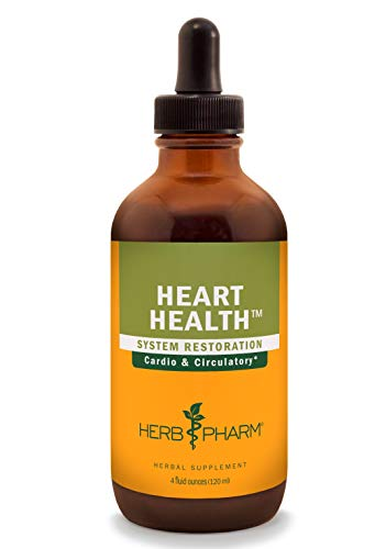 Hawthorn Herbal Supplement - Herb Pharm Heart Health Liquid Herbal Formula with Hawthorn for Cardiovascular System Support - 4 Ounce
