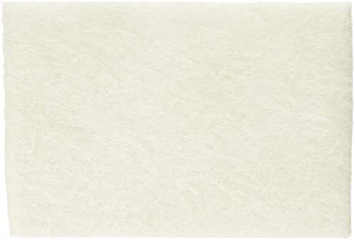 Boardwalk Light Duty Scour Pad, White, 6 x 9, 20/Carton, Sold as 1 Carton, 20 Each per Carton