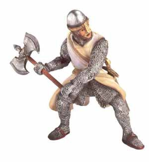 Schleich Crusader - Foot Soldier with - Foot Crusader
