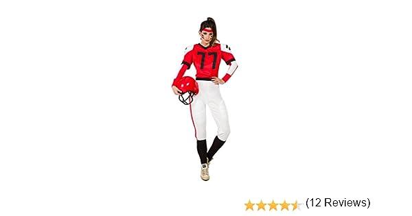 Disfraz Jugadora Rugby XL: Amazon.es: Juguetes y juegos