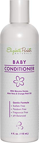 Baby Hair Conditioner - Hair Detangler for Babies - Hypoallergenic - Safe for Baby's Sensitive Skin - Relieves Scalp Conditions Like Cradle Cap Dermatitis Eczema & Dandruff - with Manuka Honey (4