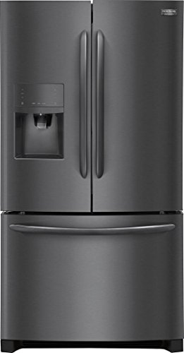 Frigidaire FGHB2867TD Gallery Series 36' French Door Refrigerator with 27.1 cu. ft. Total Capacity, in Black Stainless Steel