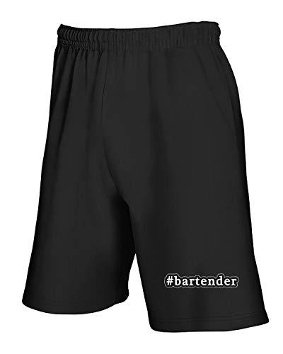 Bartender shirtshock Nero Tuta Pantaloncini And Hashtag Beer0164 T dXTR6qxR