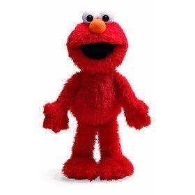 (Gund Sesame Street Elmo 13 Inch by Gund super soft and shaggy)