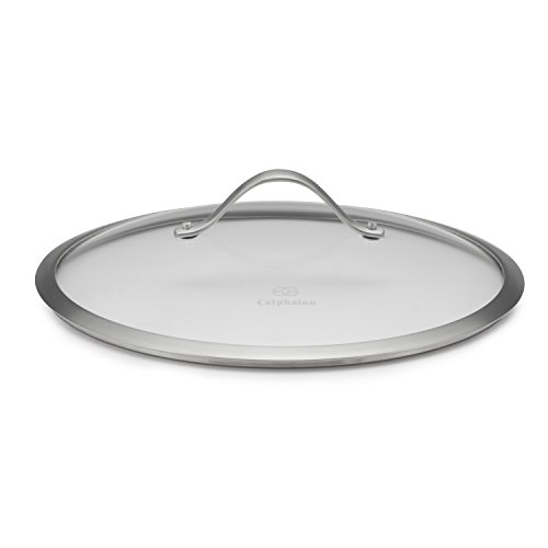Calphalon Contemporary Hard-Anodized Aluminum Nonstick Cookware, Lid, 12-inch, Glass