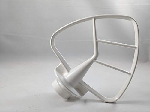 Compatible with Kenmore Elite 89008 (black)/ 89108 (white) / 89208 (red) 5 Quart Stand Mixer coated Flat beater