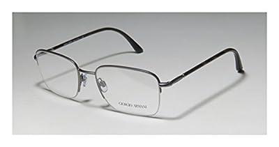 Giorgio Armani 5031 Mens Designer Half-rim Flexible Hinges Eyeglasses/Glasses