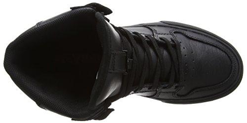 Red Hautes Black Noir Vaider Black Sneakers Adulte Mixte Supra HwBpyaW