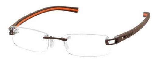 Tag Heuer Track S 7642 Prescription Eye Glasses 009 Chocolate/havana/orange New