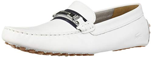 Lacoste Men's ANSTED Sneaker, white/navy, 11 Medium US ()