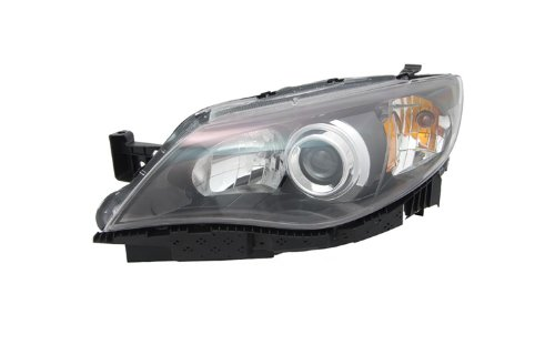 Subaru Impreza Replacement Driver (OE Replacement Subaru Impreza Driver Side Headlight Assembly Composite (Partslink Number SU2502125))