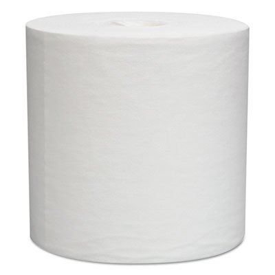 (WypAll 5820 L30 Wipers, Center-Pull Roll, 9 4/5 X 15 1/5, White, 300/roll, 2 Rolls/carton)