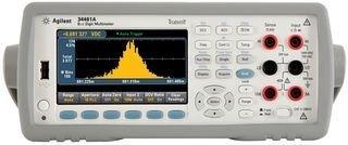 Agilent Technologies 34461a Digital Multimeter, Auto/manual, 6-1/2