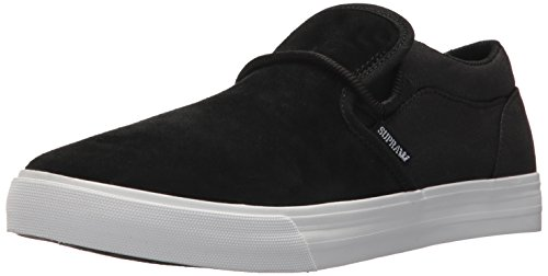 Supra Cuba, Black/White/Suede, Medium / 11 C/D US Women / 9.5 D(M) US Men