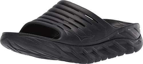 HOKA ONE ONE Mens ORA Recovery Slide 2 Black/Black Sandal - 8