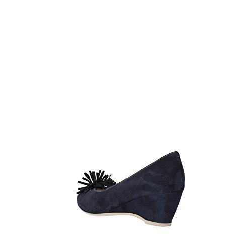 CALPIERRE Zapatos de salón mujer Azul gamuza AG711