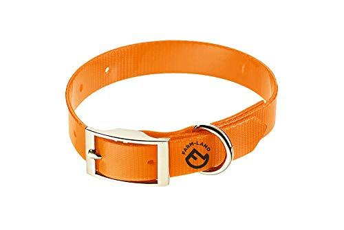 FARM-LAND 90-1-160-006 Basic Dog Collar Signal Orange 60