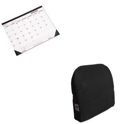 Advantus Foam (KITAVT602804MH05REDC1731 - Value Kit - Advantus Memory Foam Massage Lumbar Cushion (AVT602804MH05) and Rediform Desk Pad/Wall Calendar (REDC1731))