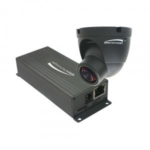 Speco 1080p Indoor Mini Turret IP Camera, Fixed Lens, Color, Black ()