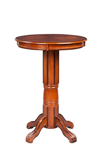 Boraam 71342 Florence Pub Table, 42-Inch, Brandy (Tables Bar Pub And)