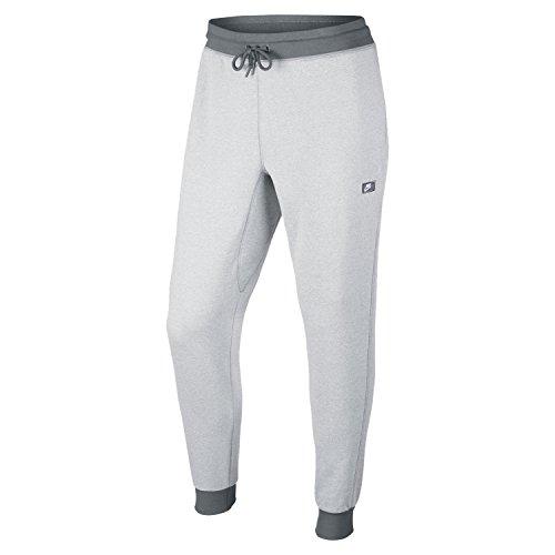 Nike White/Cool Grey/Heather AW77 Shoebox Cuff Sweatpants (XL)