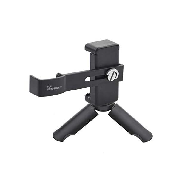 Action Pro Pocket Mobile Phone Securing Clip Bracket Mount Desktop Tripod Compatible with DJI Osmo Pocket Handheld Gimbal Accessories 1