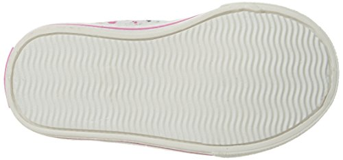 Carter's Piper Girl's Casual Sneaker, White/Print, 10 M US Toddler by Carter's (Image #3)
