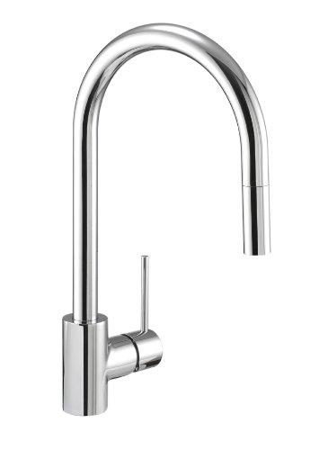 Danze DH450177 Citron Single Handle Pull-Down Kitchen Faucet, Chrome - Danze Spray Faucet