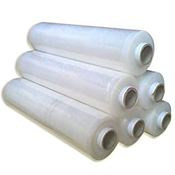 Roll of Clear Stretch Shrink Film Pallet Wrap 300m x 500mm, FREE Express  Delivery