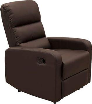 hs-672 °C M sillón con Movimiento Manual de Piel sintética ...