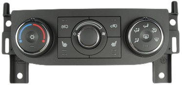 ACDelco 15-73662 GM Original Equipment Heating and Air Conditioning Control Panel with Driver and Passenger Seat Heater