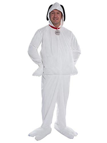 Peanut M&m Costume (Peanuts Adult Snoopy Costume -)