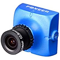 Foxeer HS1177 V2 Sony 600TVL 5~40V FPV Camera Metal Case - NTSC - Lens 2.5mm - Blue