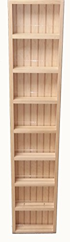 Wood Cabinets Direct Fulton Premium on The Wall Spice Rack, 55