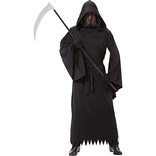 AMSCAN Phantom of Darkness Halloween Costume for Men, Standard, with Veil