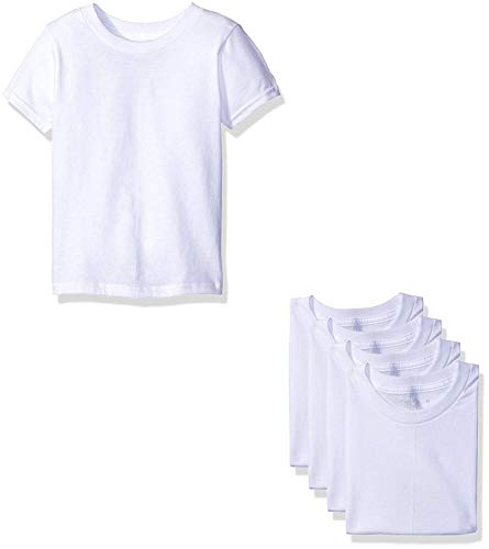 Fruit of The Loom Boys' Cotton White T Shirt (2T/3T(28-33