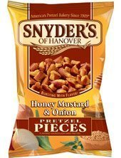 Onion Pretzel (Snyder's Pretzel Honey Mustard Onion Pieces (2.25 Oz). - 15 Pack!!!!))