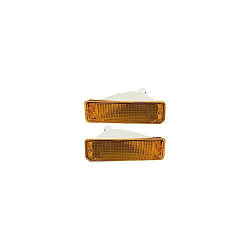 Evan-Fischer EVA23172055422 Turn Signal Light for Toyota Pickup 89-95 RH and LH Included (91 Signal Turn Auto)